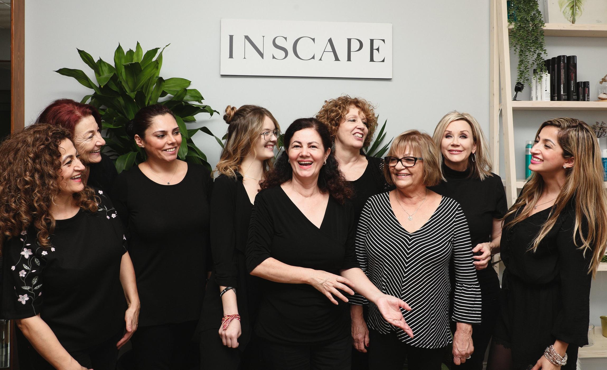 inscape beauty salon davie team