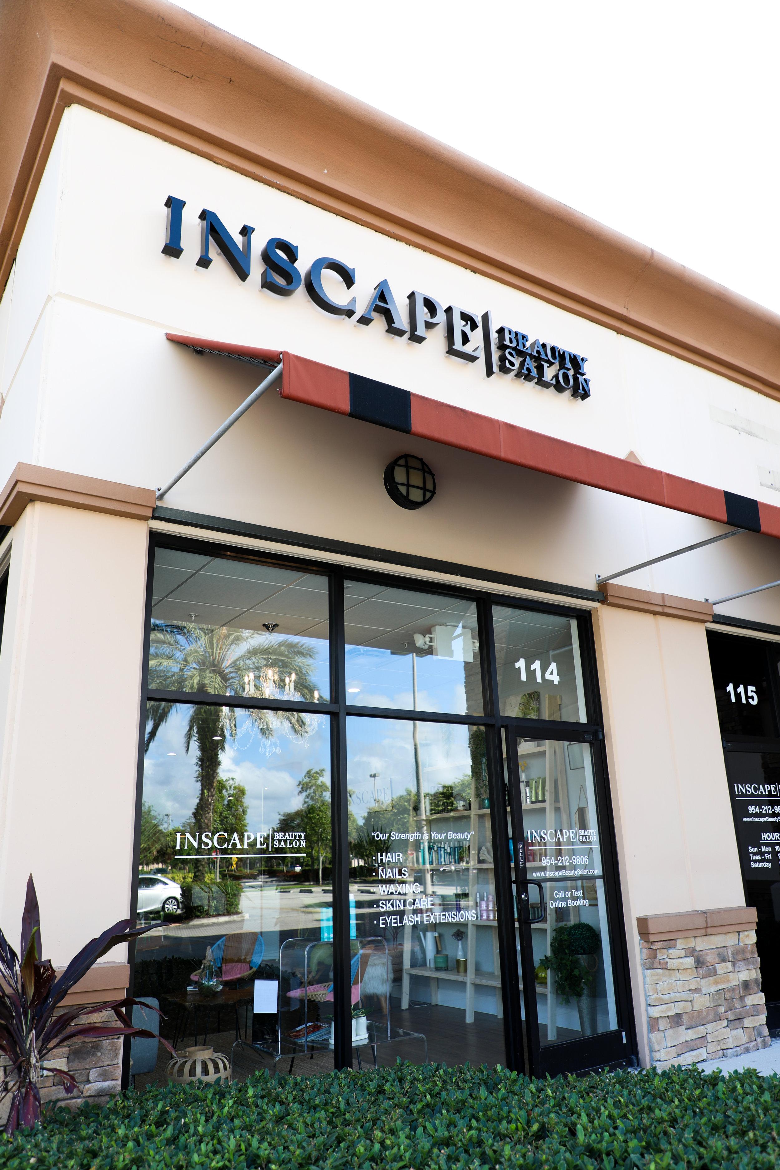 Inscape Beauty Salon - Exterior View