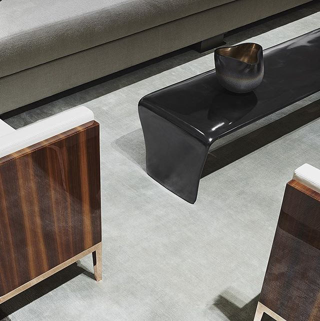 Christian Liaigre New York 🖤 Finishes! We love to layer textures and mix finishes.  #interiordesign #interiorfinishes #designer #interiors #luxuryhomes #luxuryfinishes #photooftheday #designsideas #furniture #furnishings