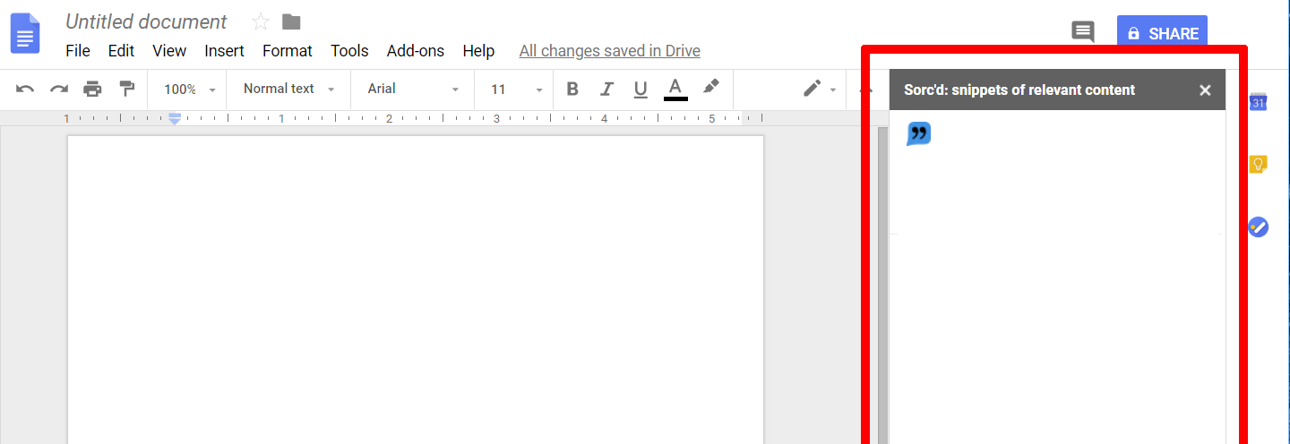 Troubleshooting_No snippets appear in Google Docs.png