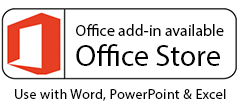 Office add-in for writing