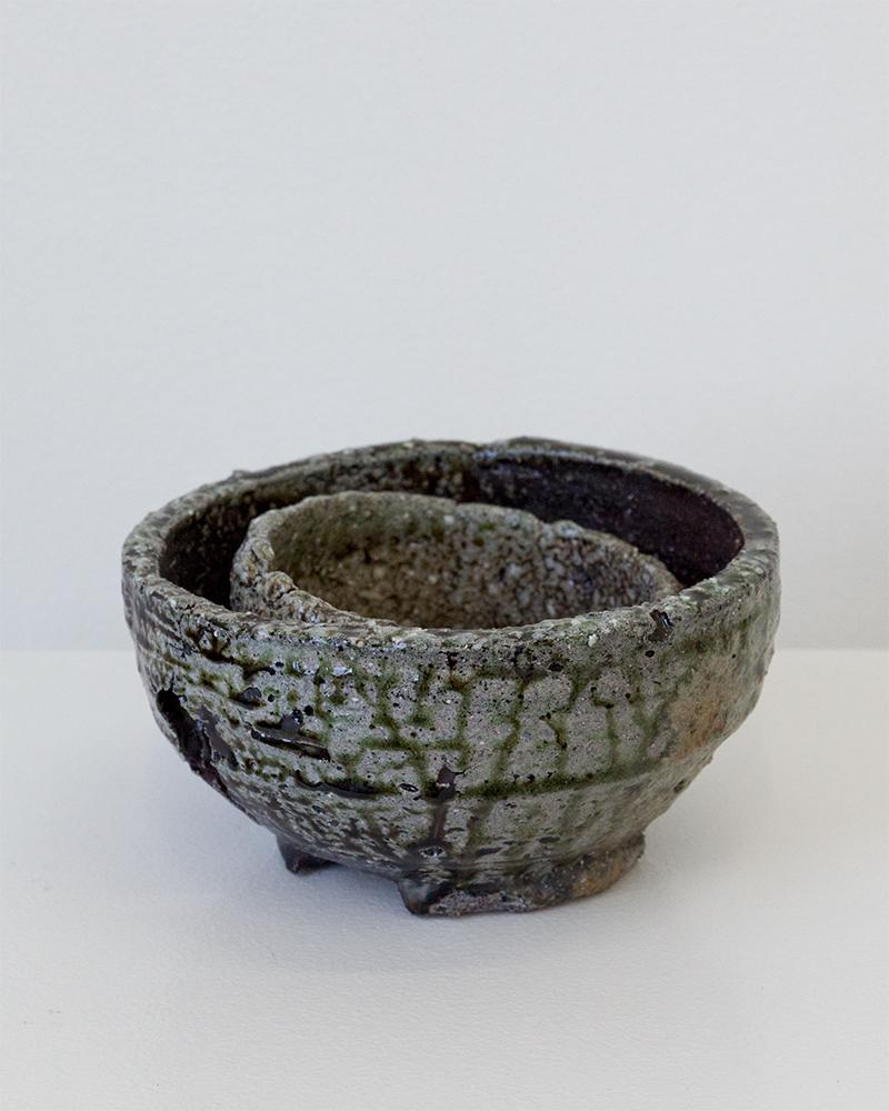 """""""Double Bowl"""", 2018, Calvin Shimada"""