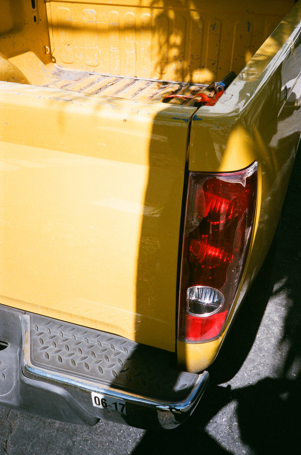 Untitled (Yellow Chevy), 2018, Ramsey Cheng