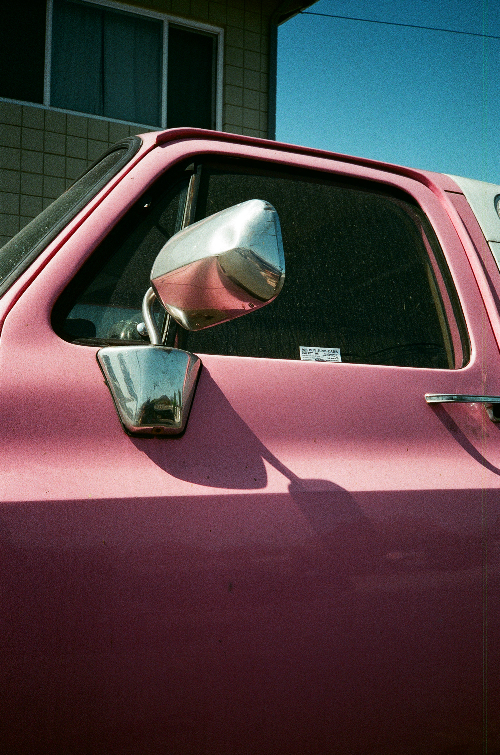 Untitled (Pink Bronco), 2018, Ramsey Cheng