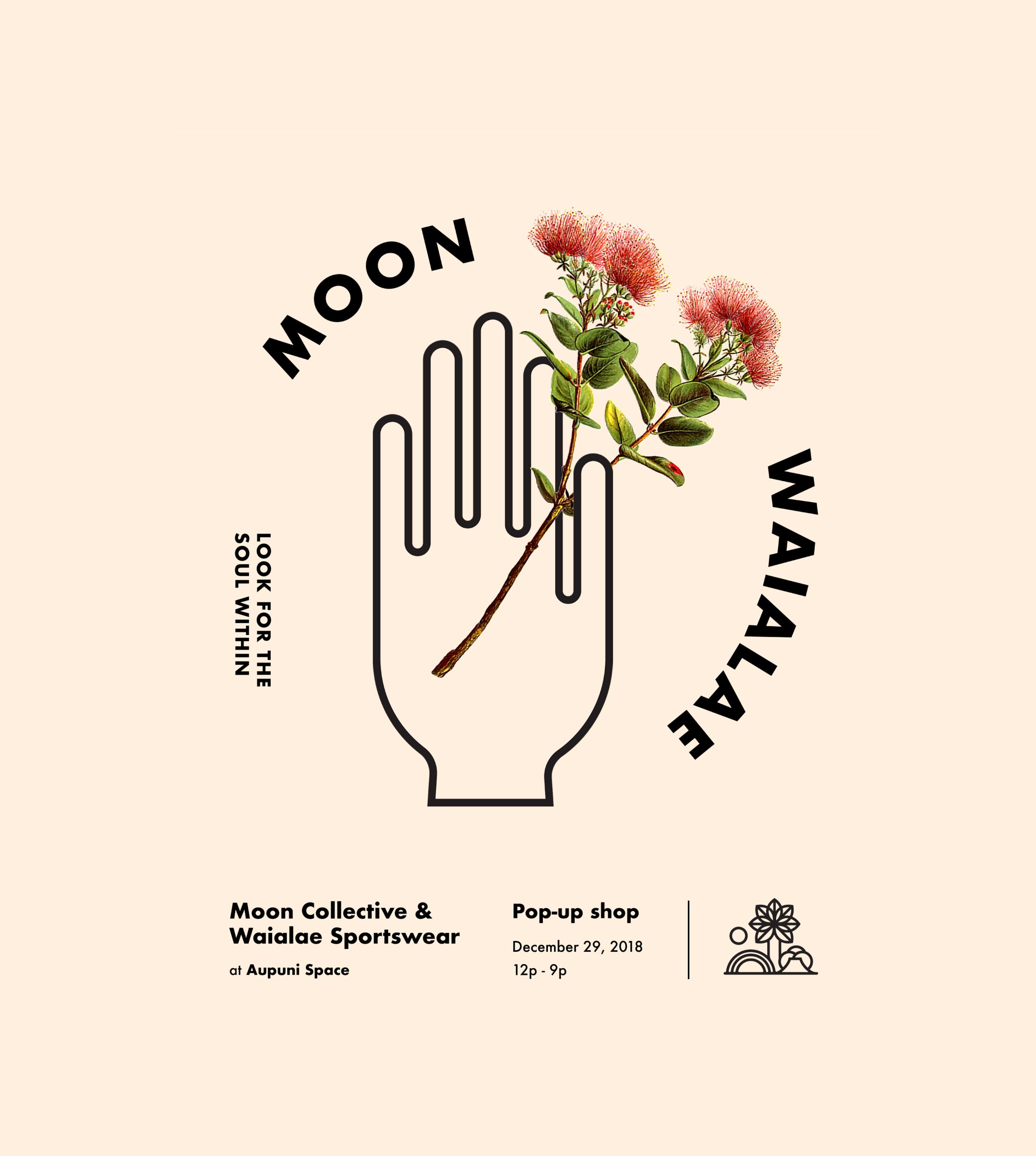 Waialae Moon - Moon Collective and Waialae SportswearDecember 29, 2018