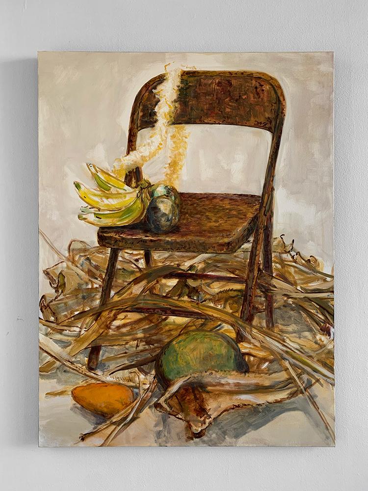 """Still Life with Hala"", 2018 by Solomon Enos"