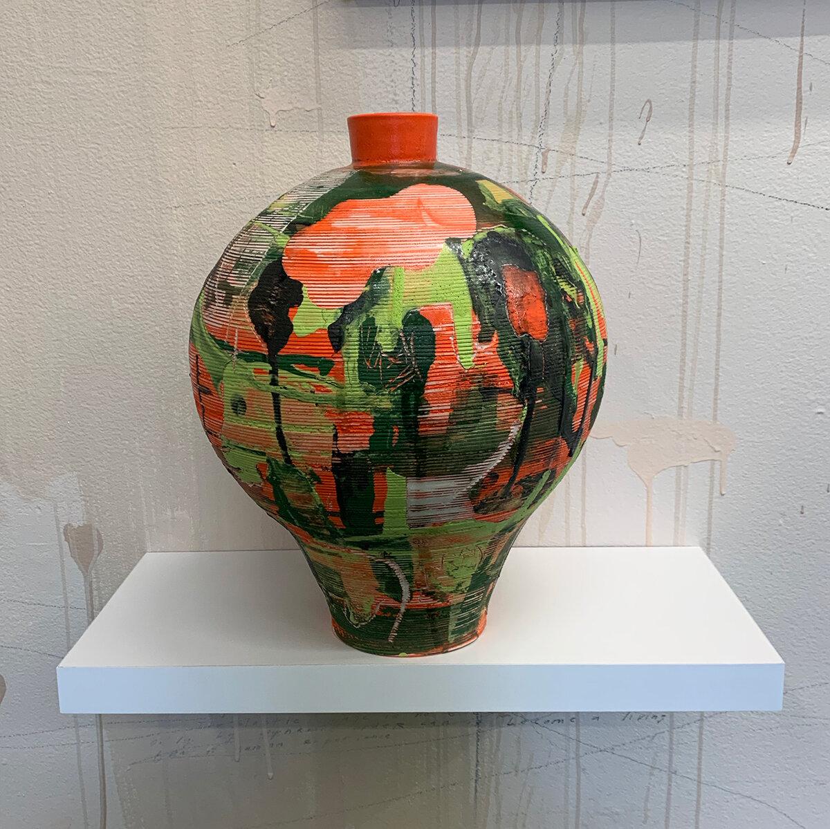 Vase (orange), 2018