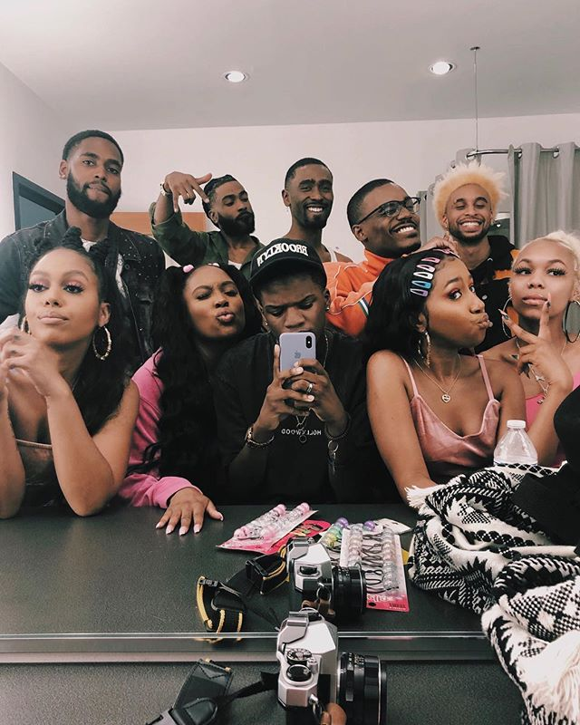 when the cast & crew is all black + talented 🙏🏿🖤