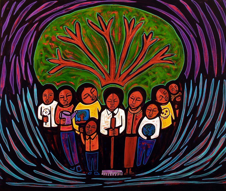 arbol, 2006, 20x17