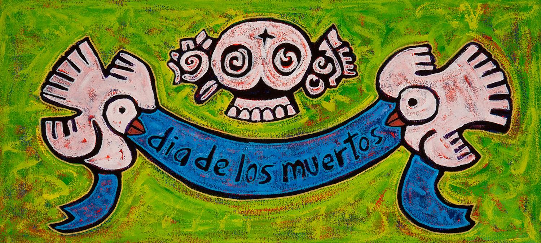 dia de los muertos, 2013, 24x14