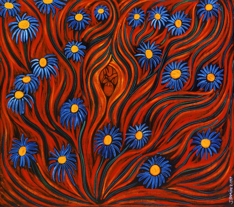 madre tierra, 1999, 24x22