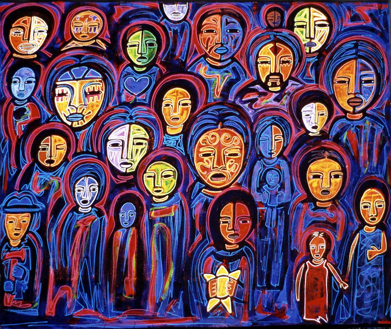 gente, 2001, 40x48