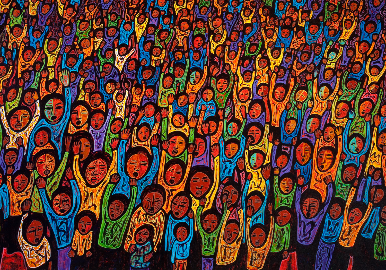 gente, 2009, 58x48