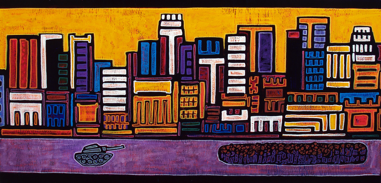 mac arthur parque, 2007, 48x24