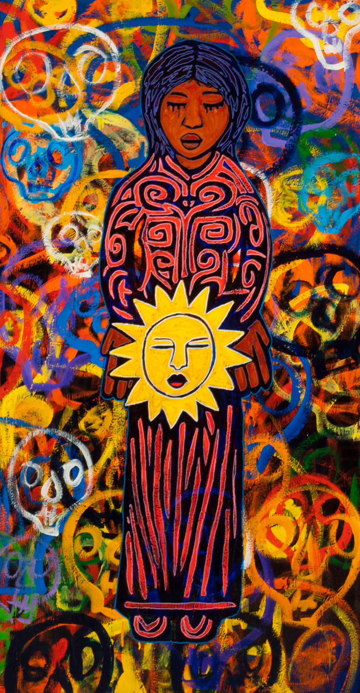 madre sol, 2012, 33x54