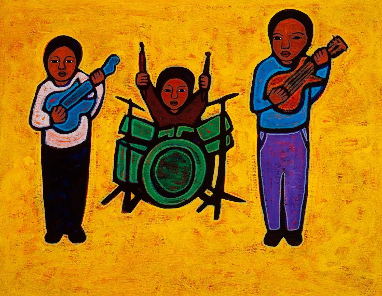 trio, 2010, 20x16