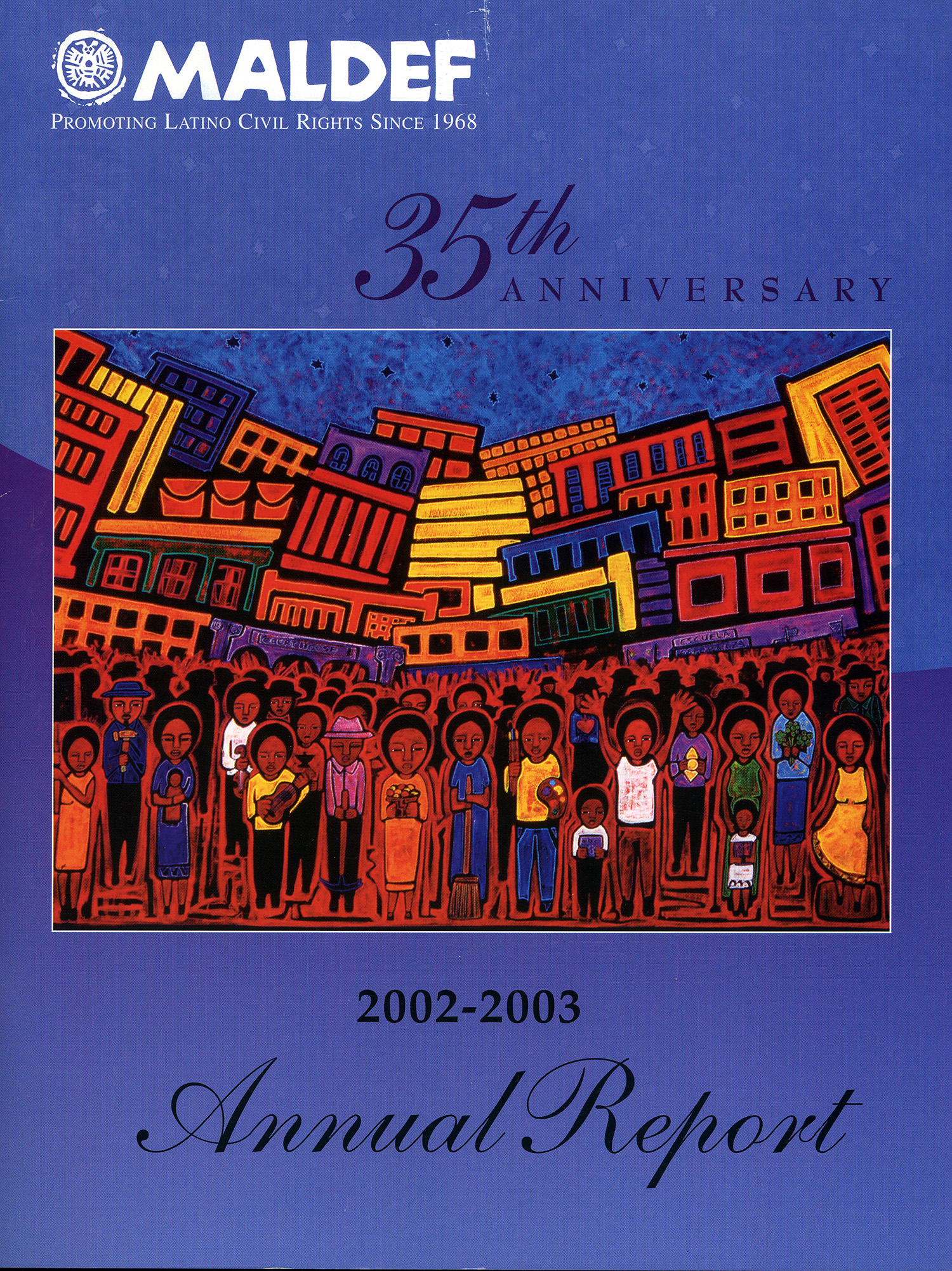 35th anniversary commission, MALDEF, 2003.
