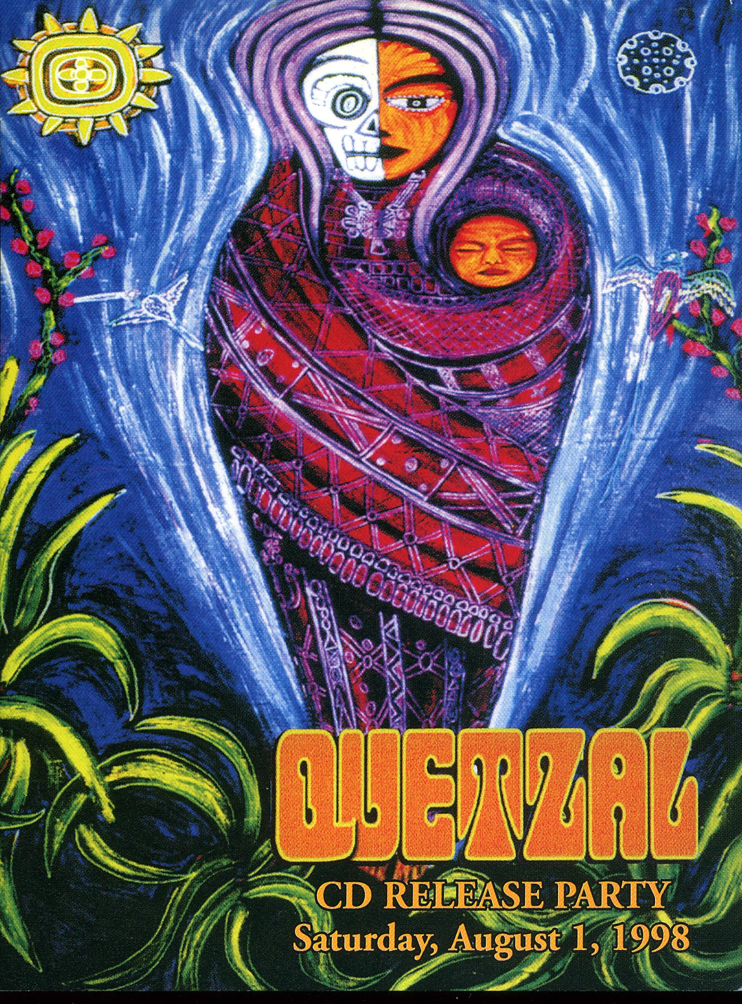 Quetzal, album cover, 1998.