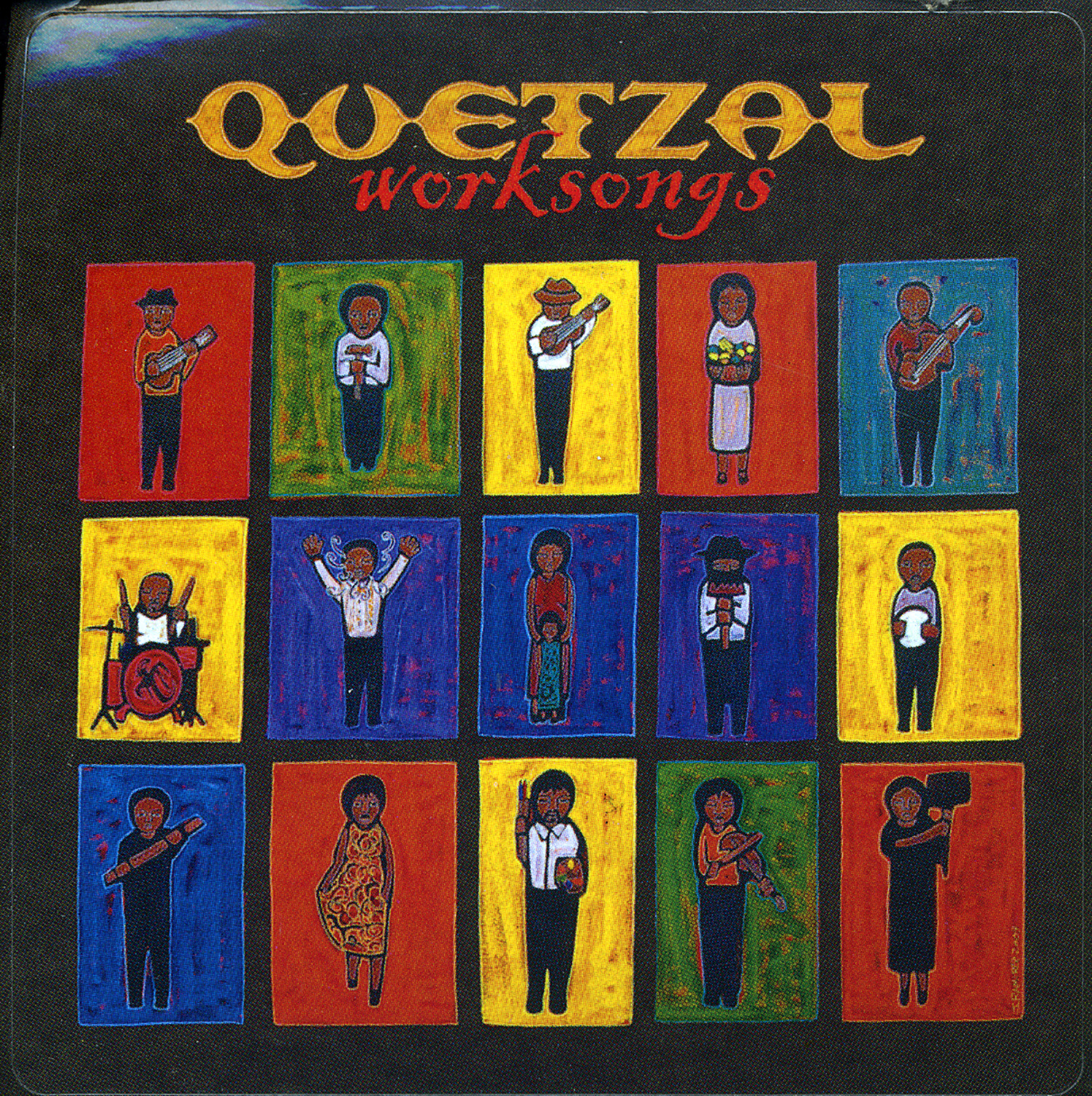 Worksongs, Quetzal album cover, 2003.