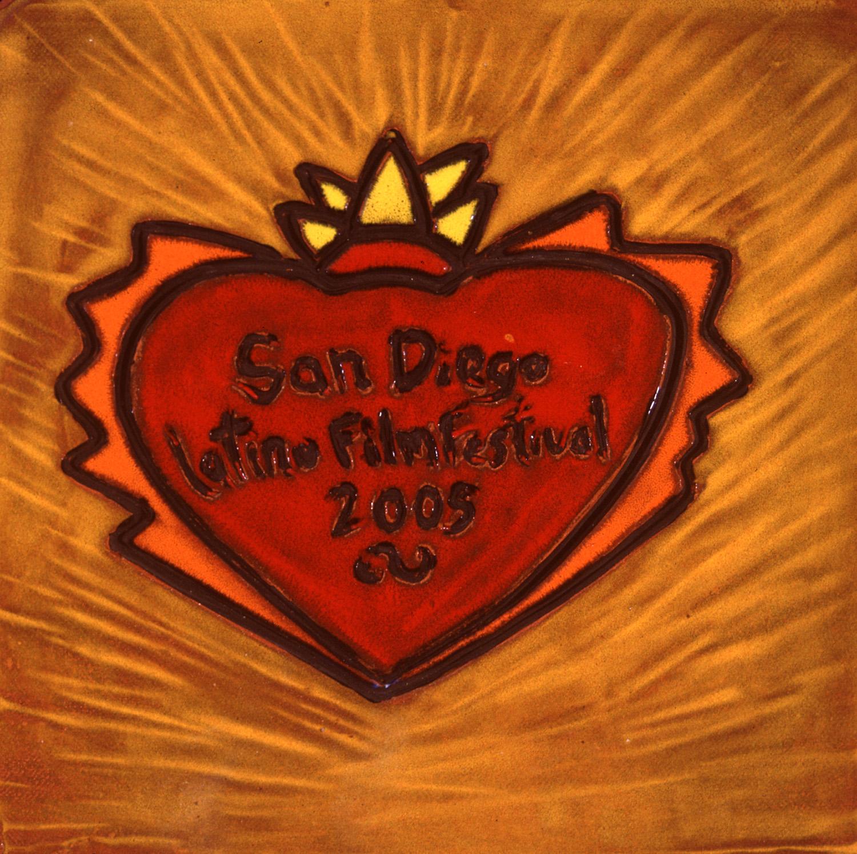 Award Plaque, San Diego Latino Film Festival, 2005.