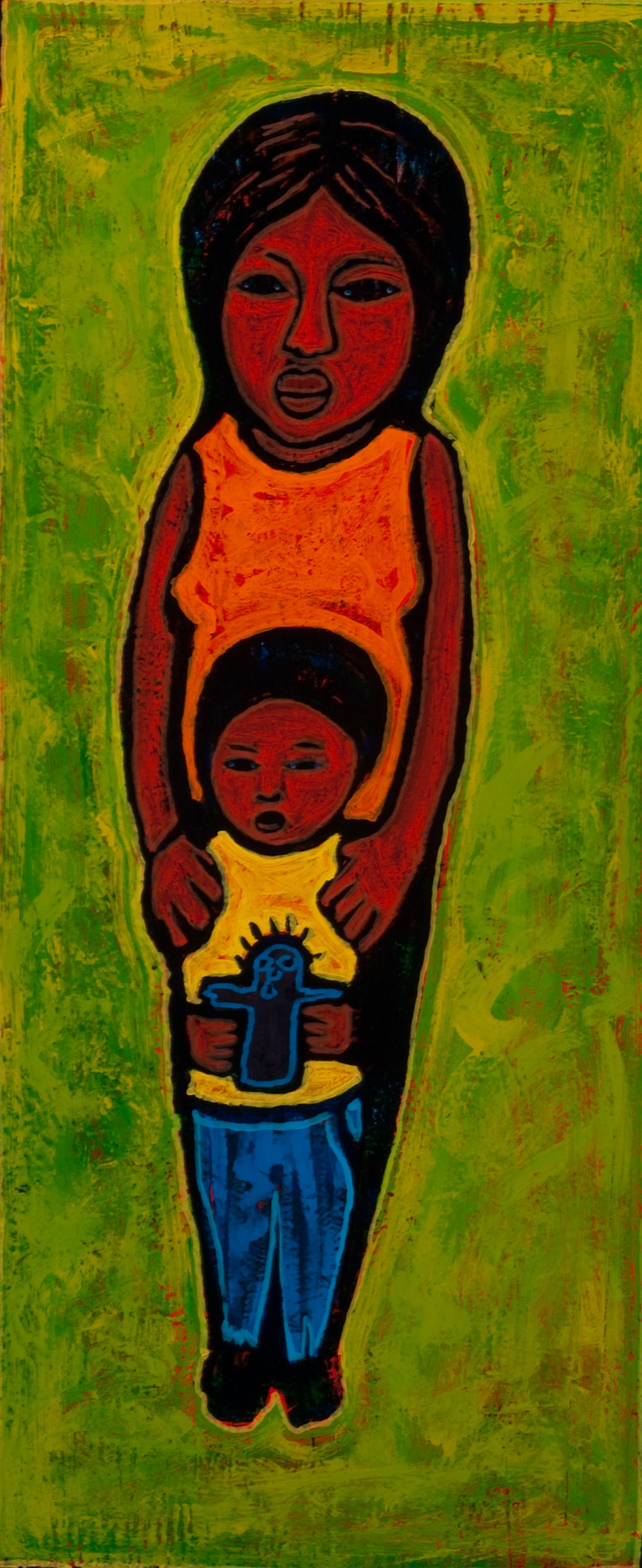 mama y hijo