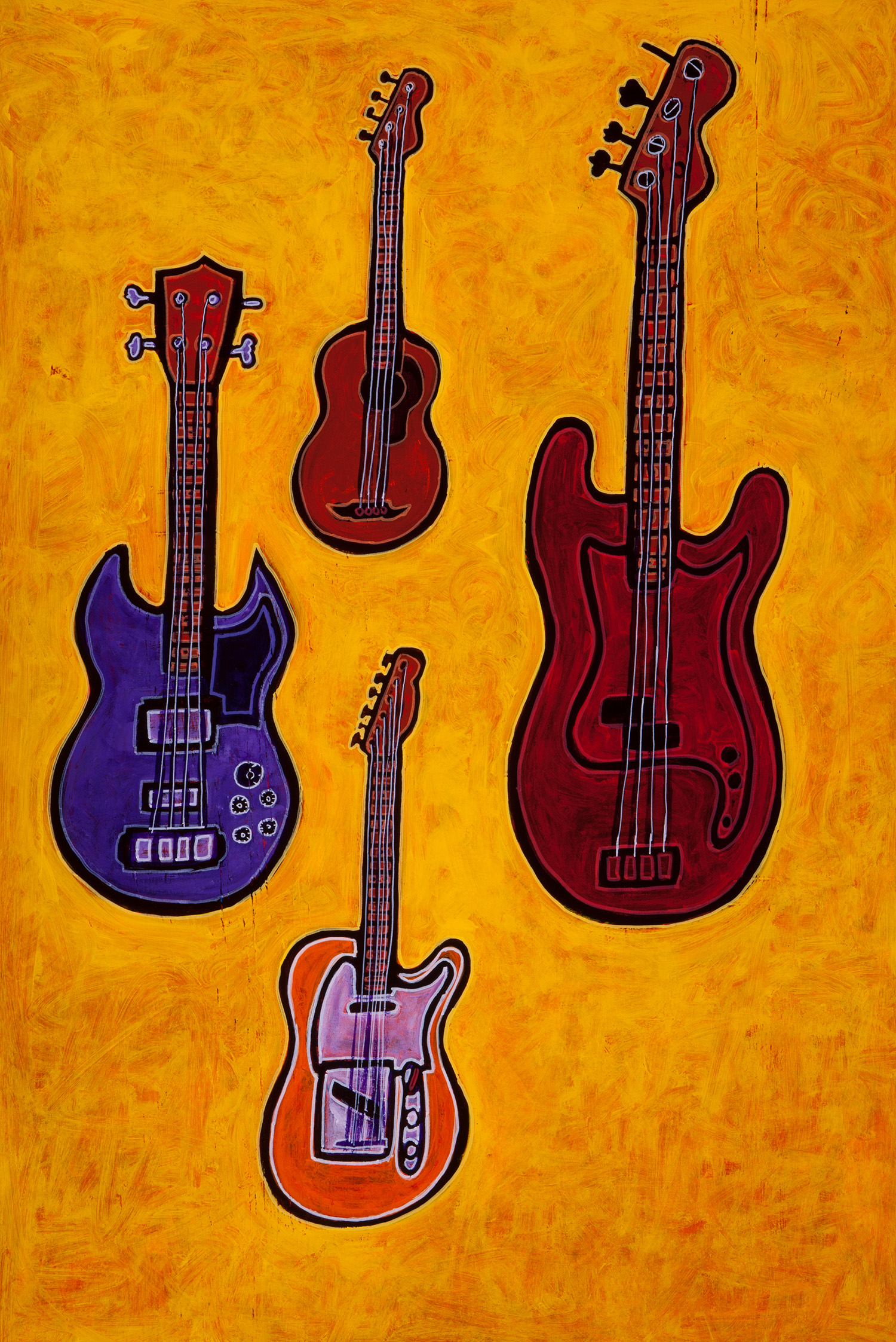 bass guitars, 2012
