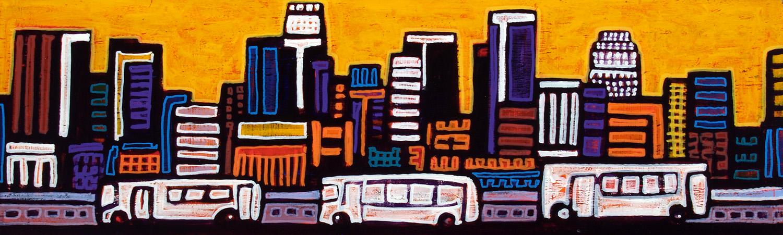 3 busses