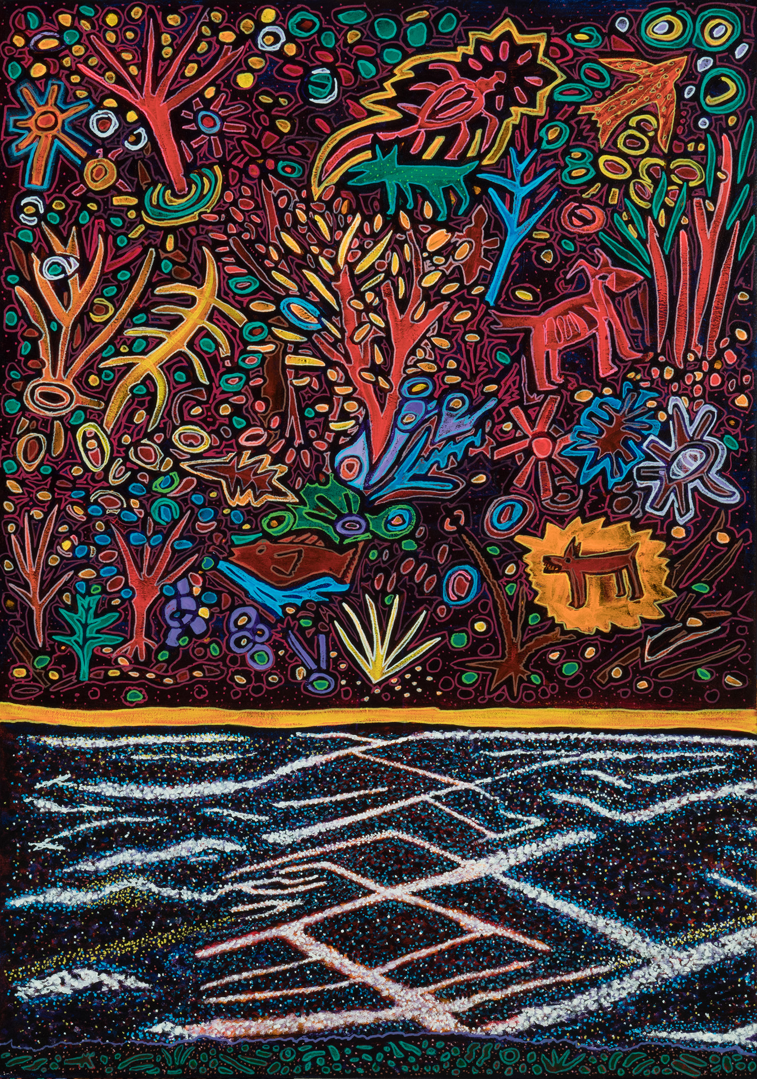 constellations, 2018, 28x40