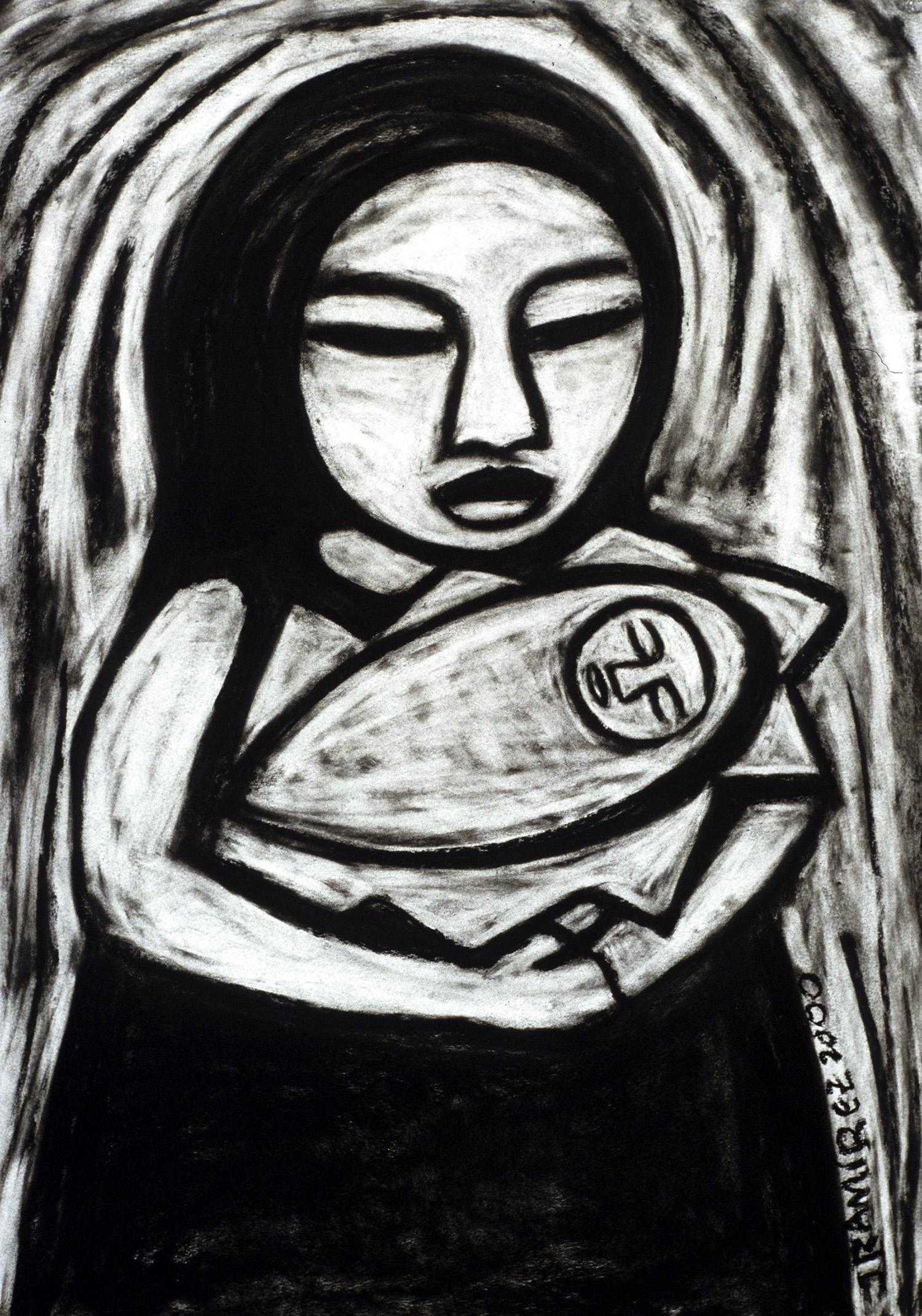 mama(charcoal)