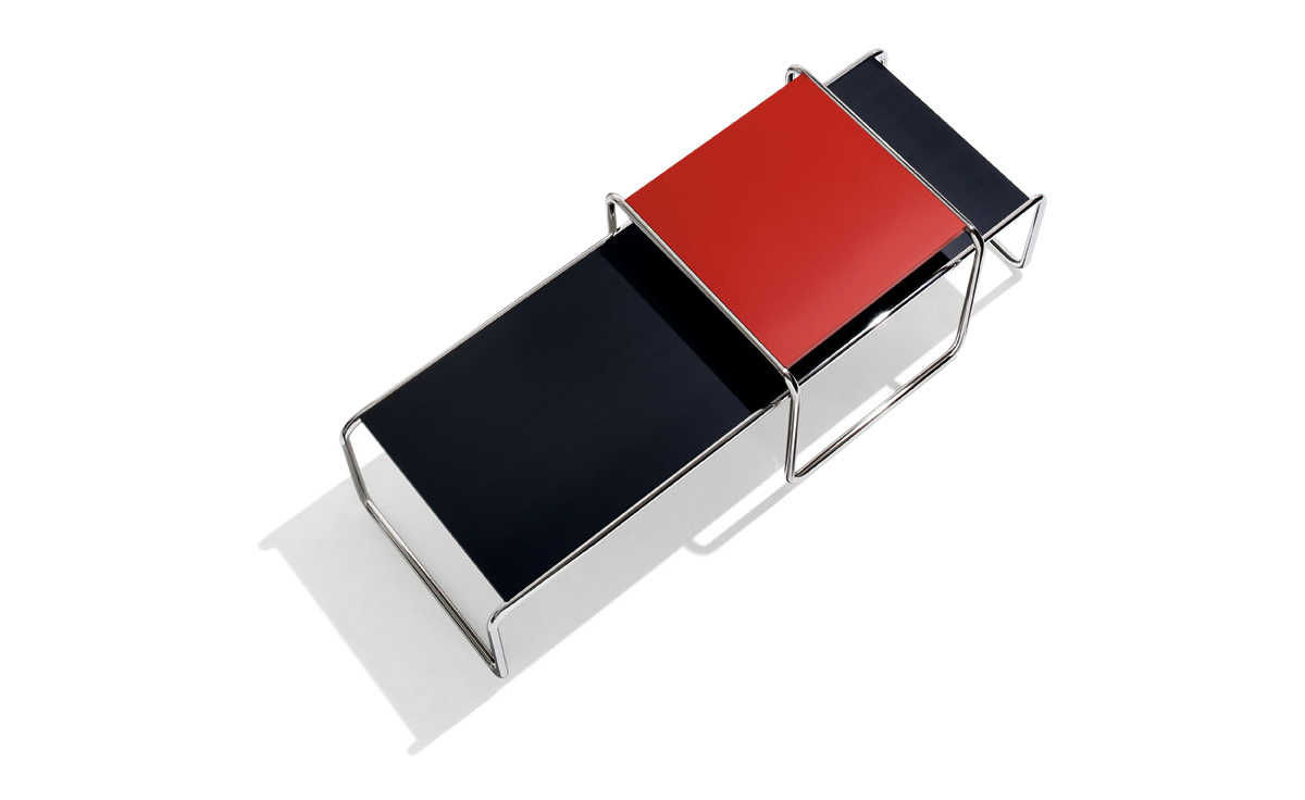 NEW Marcel Breuer Laccio Tables - in RED from 290 €