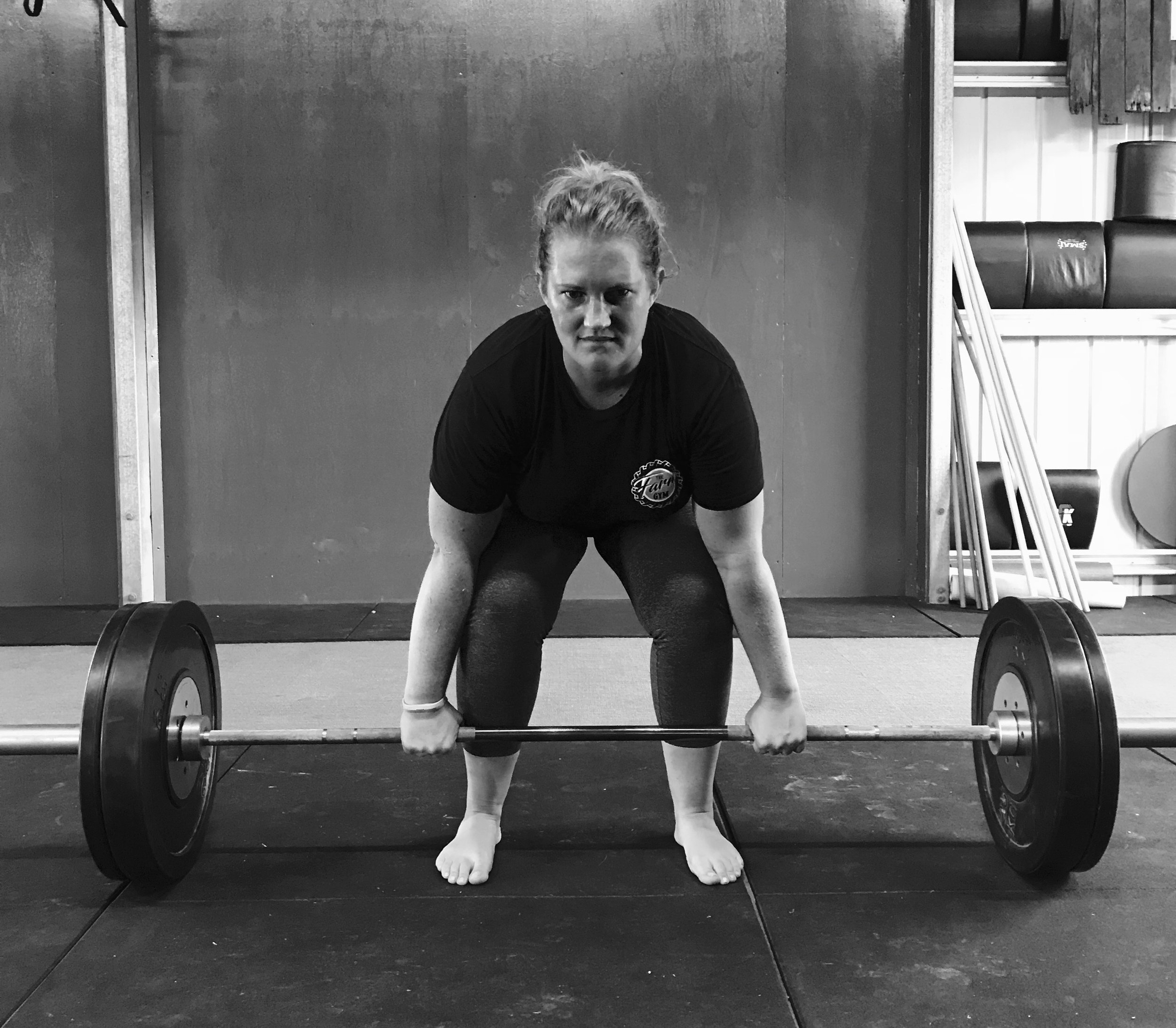 Kate with an incredible Deadlift - power and strength