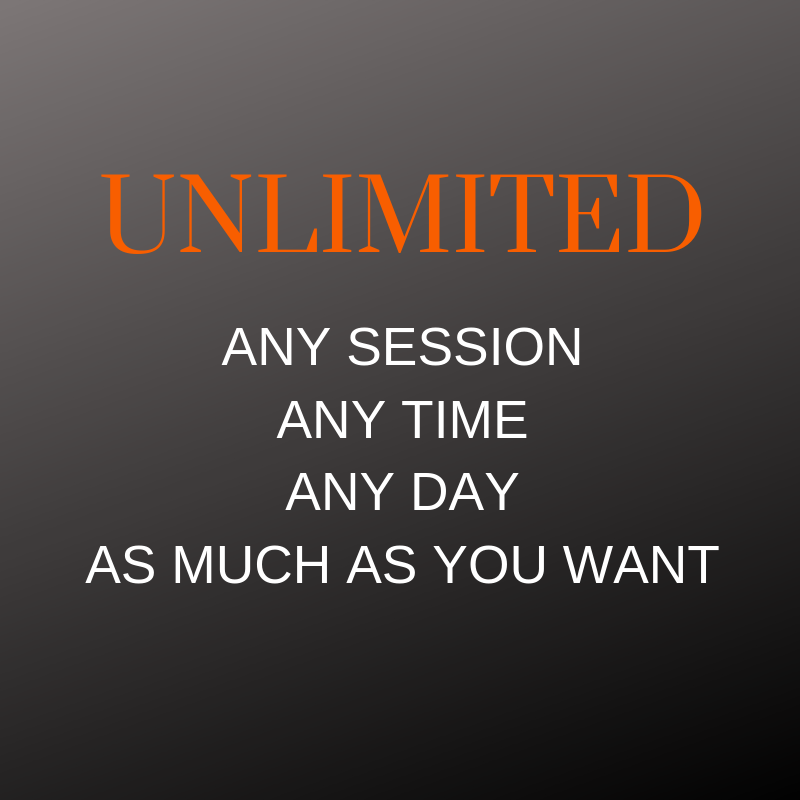 Get Started today - Click here    -    Membership works out to be = $14.50 - $17.40 Per Session