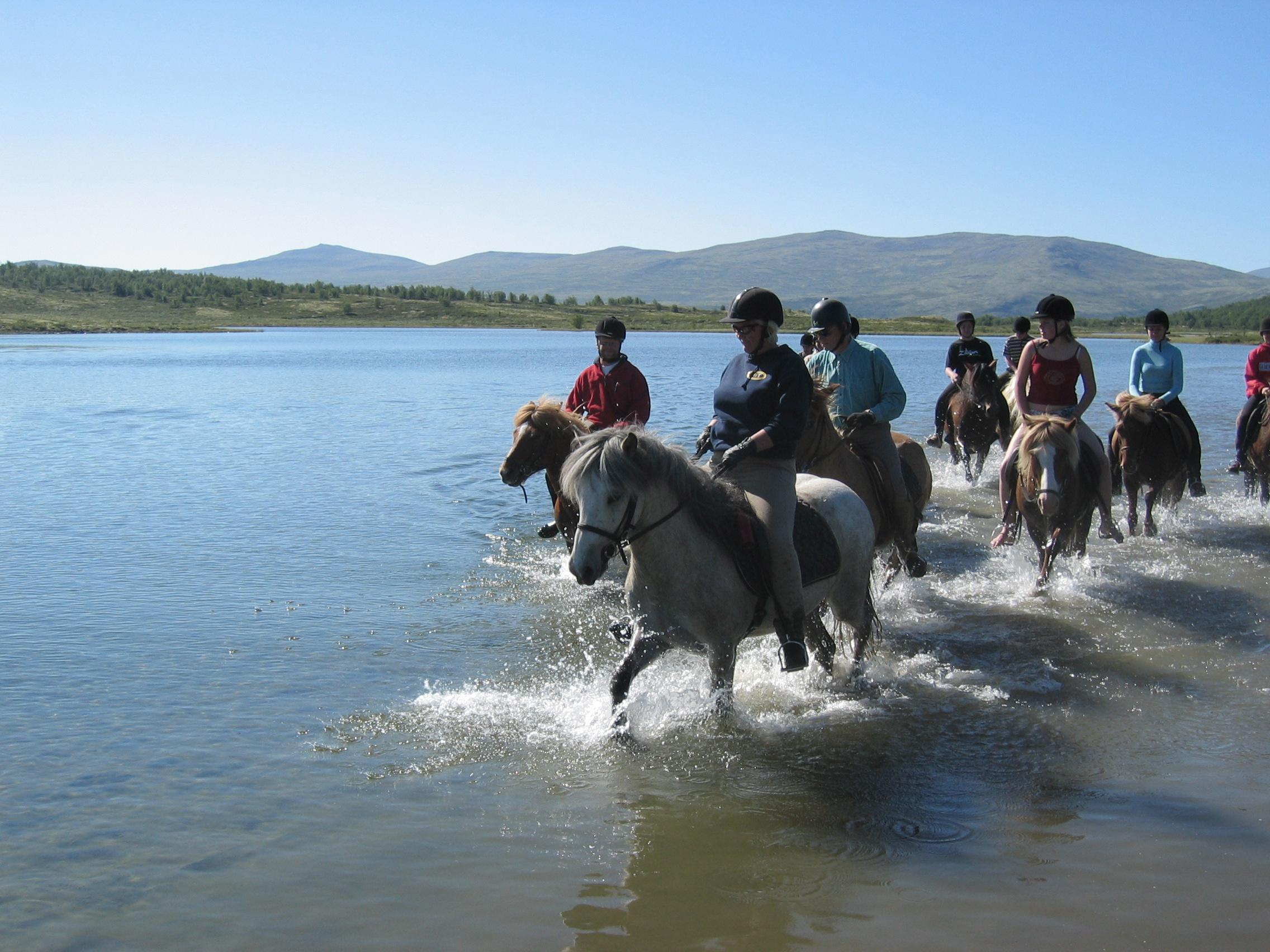 Riding -