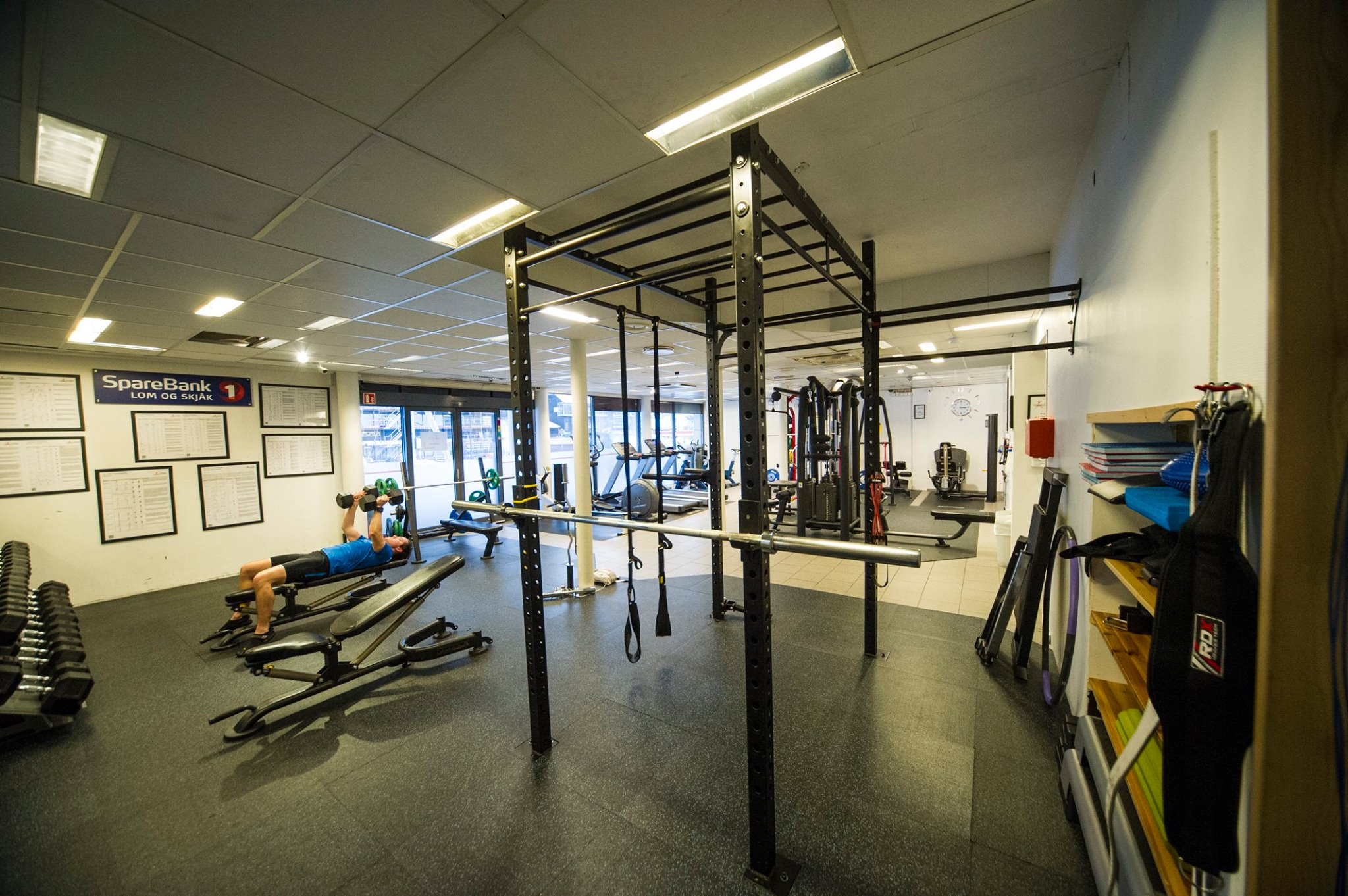 Foto: Dombås Treningsstudio