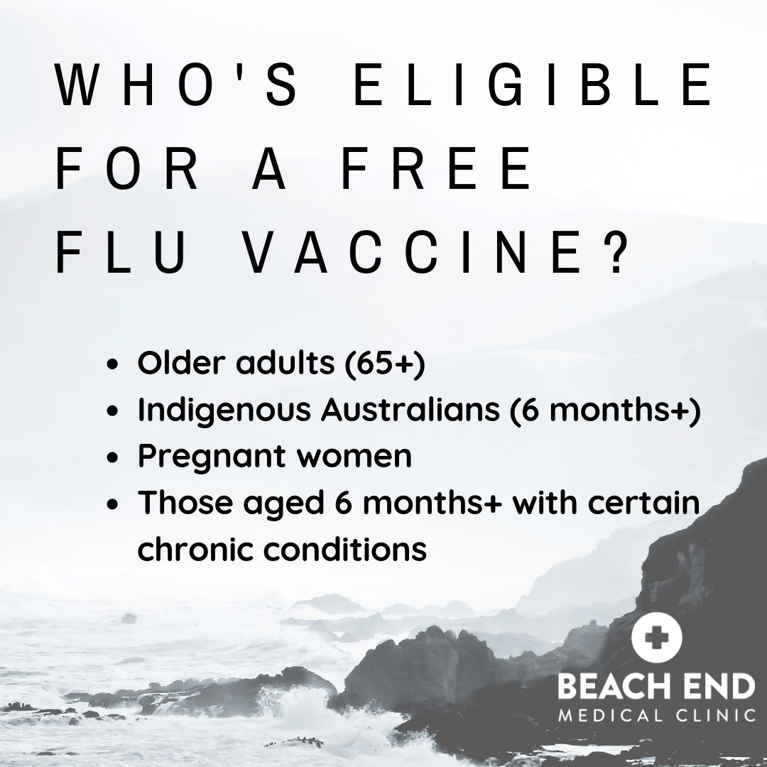 some people are eligible for a free flu vaccine in 2019; visit us in mornington to find out more