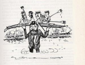 Hickey's interpretation of the strain on Captain Keith Ticehurst