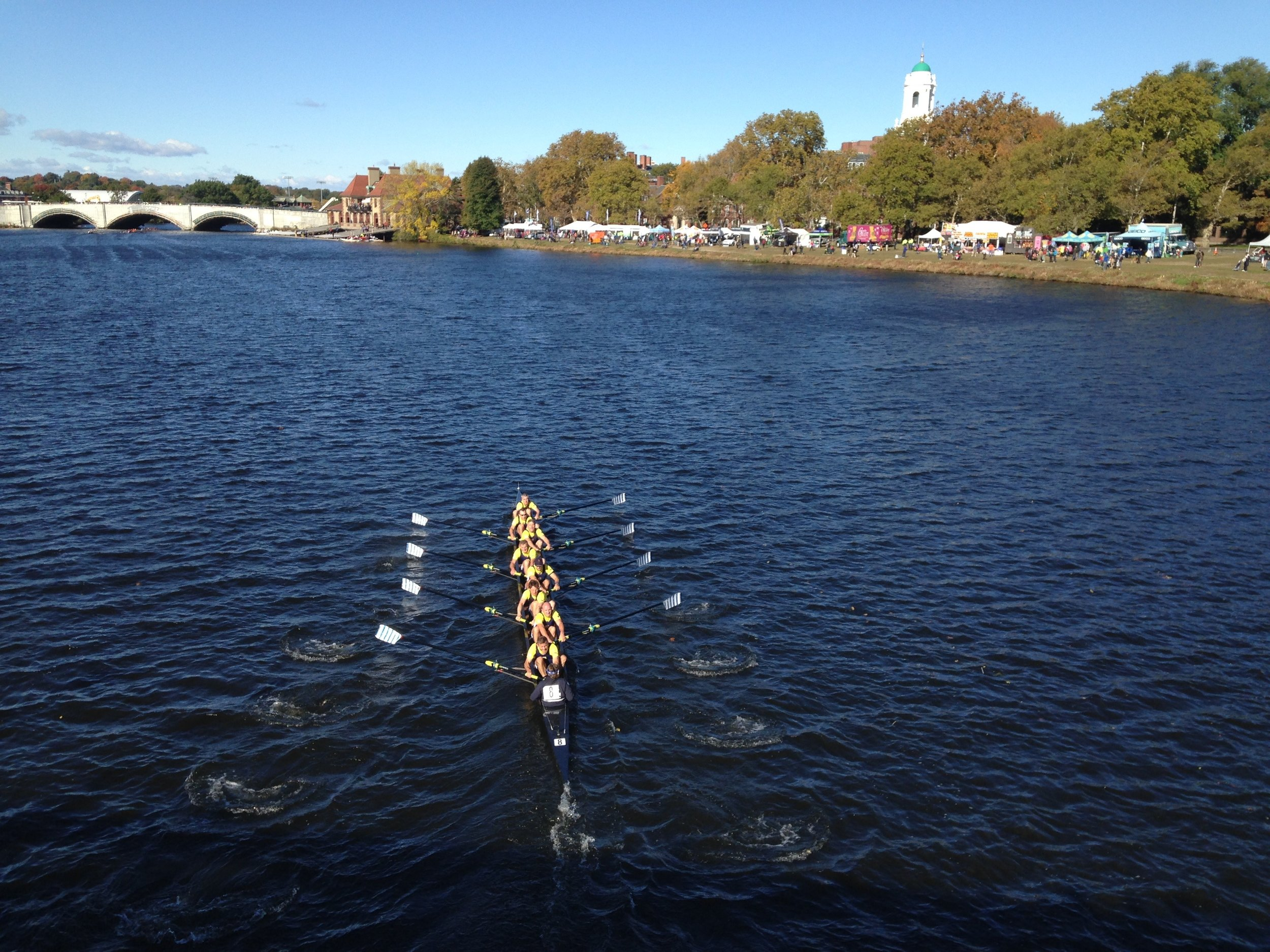 LRC Masters D 8+, Head of The Charles, 2017