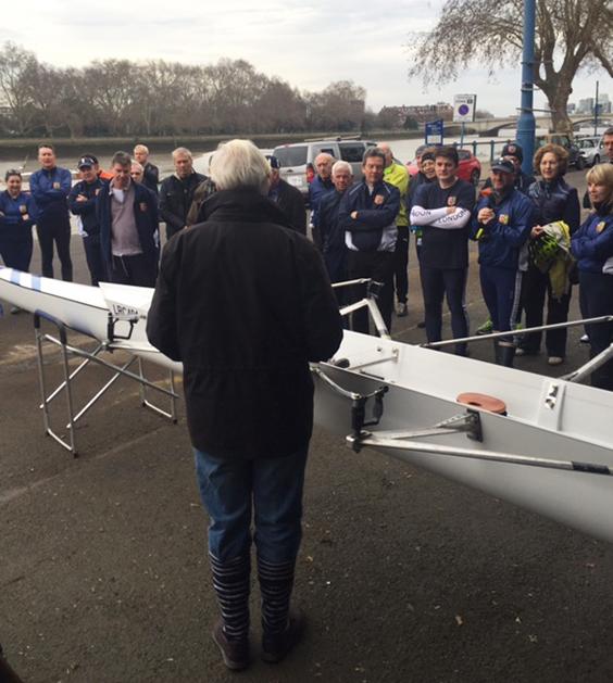 LRC's winning combination: Stewart Harries, Adrian Theed, Ralph Humphrey, Shaun Martin and Theo Robinson