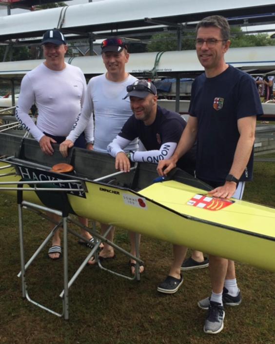 Molesey crew - Dugald Moore, Matt Thorogood, Jason Danciger and Rory O'Sullivan.
