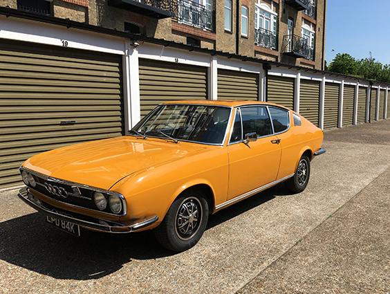 1972 Audi 100 S
