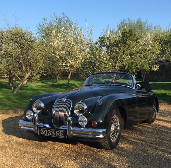 1958 Jaguar XK150 SE Drophead coupé