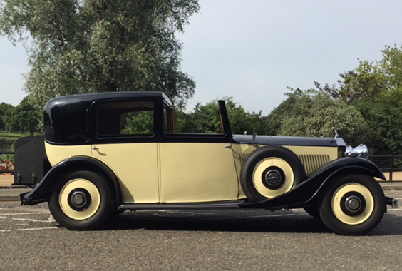 1933 Rolls Royce 20/25 Sedanca de Ville
