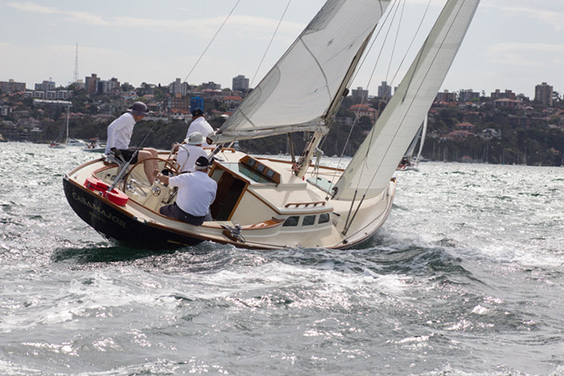 2009 Sailing boat 'Casamajor' built to order in Maine, USA. Currently located in Sydney, Australia