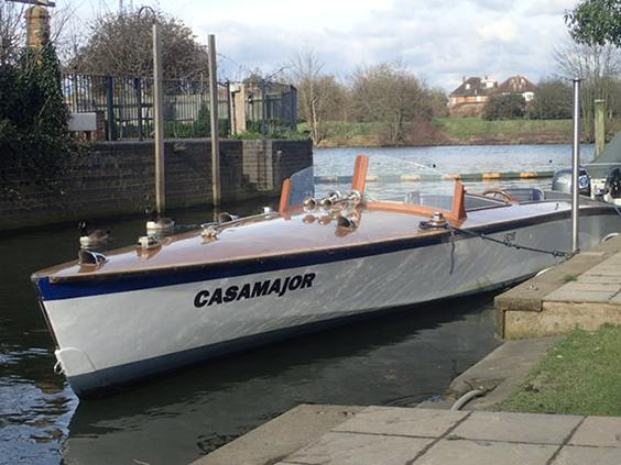 1956/7 Motor launch 'Casamajor'