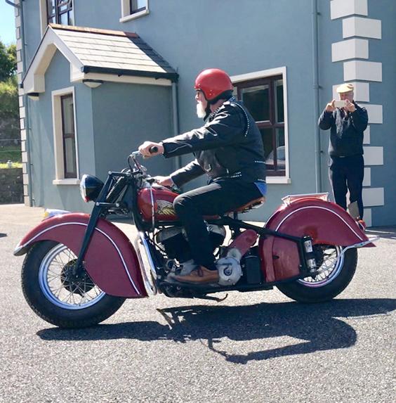 1947 Indian Chief (1,200cc)