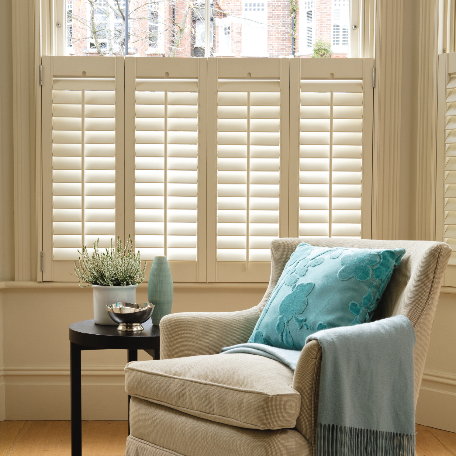 Shutters - Our stunning range of made-to-measure plantation blinds are engineered to the highest possible standards, manufactured in state-of-the art production facilities and produced from some of the finest grade raw materials.From our fantastic entry level MDF solution to our range topping FSC® C112896 certified white teak that come from a sustainable plantation with a traceable full custody chain, We are dedicated to supplying only the very highest quality plantation shutters that are built to last and bring you many years of enjoyment.
