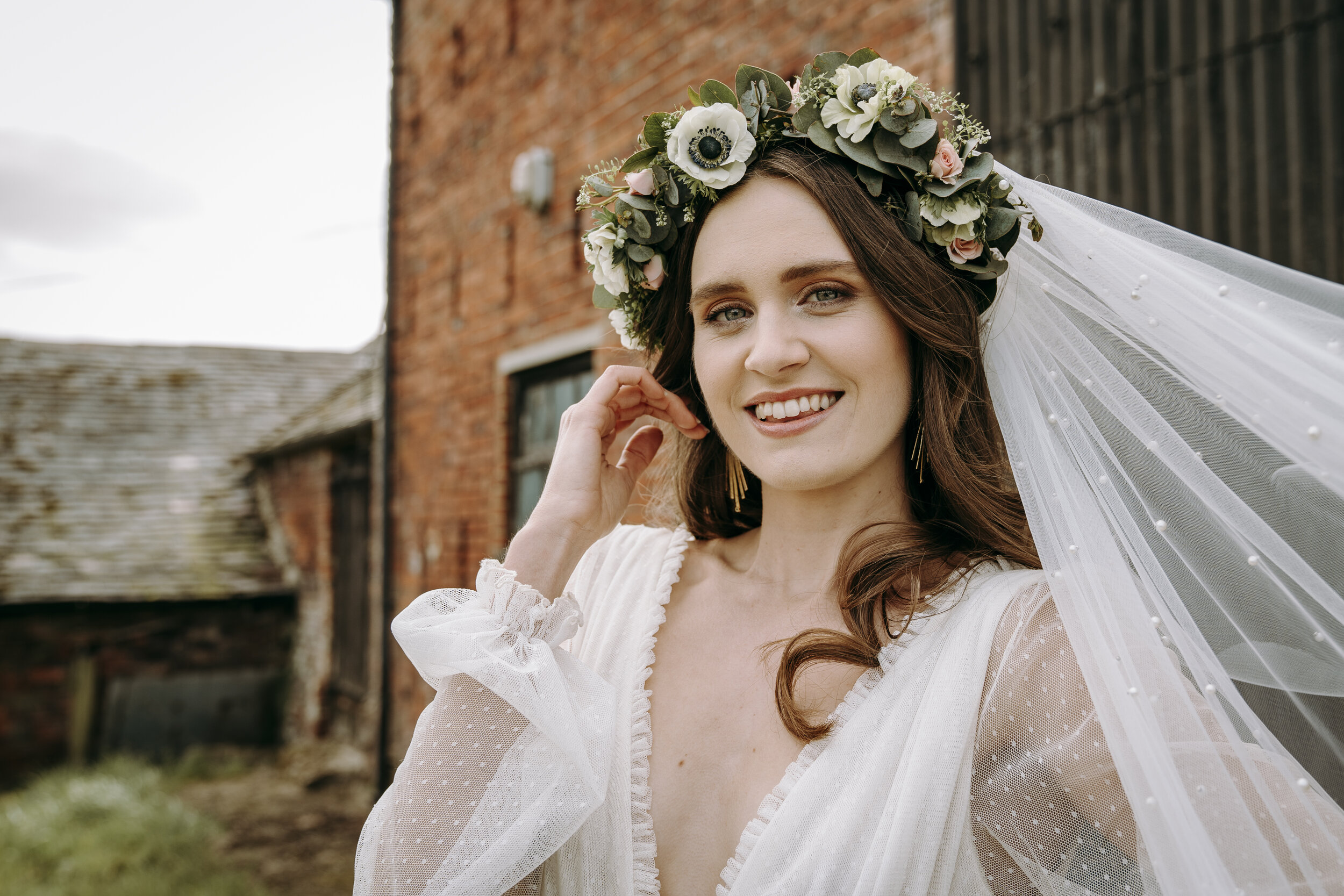 Bridal portraits, The Kedleston Country House