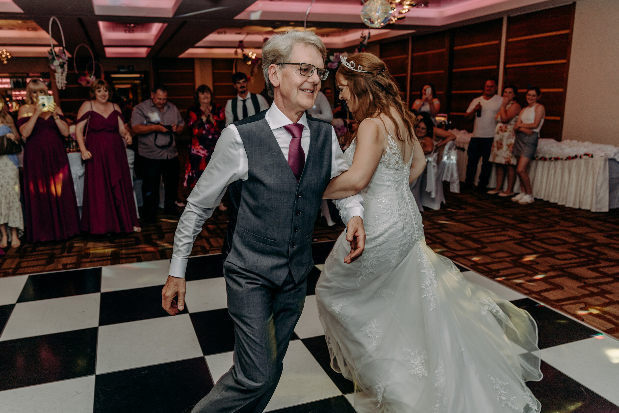 Dad & daughter wedding dance
