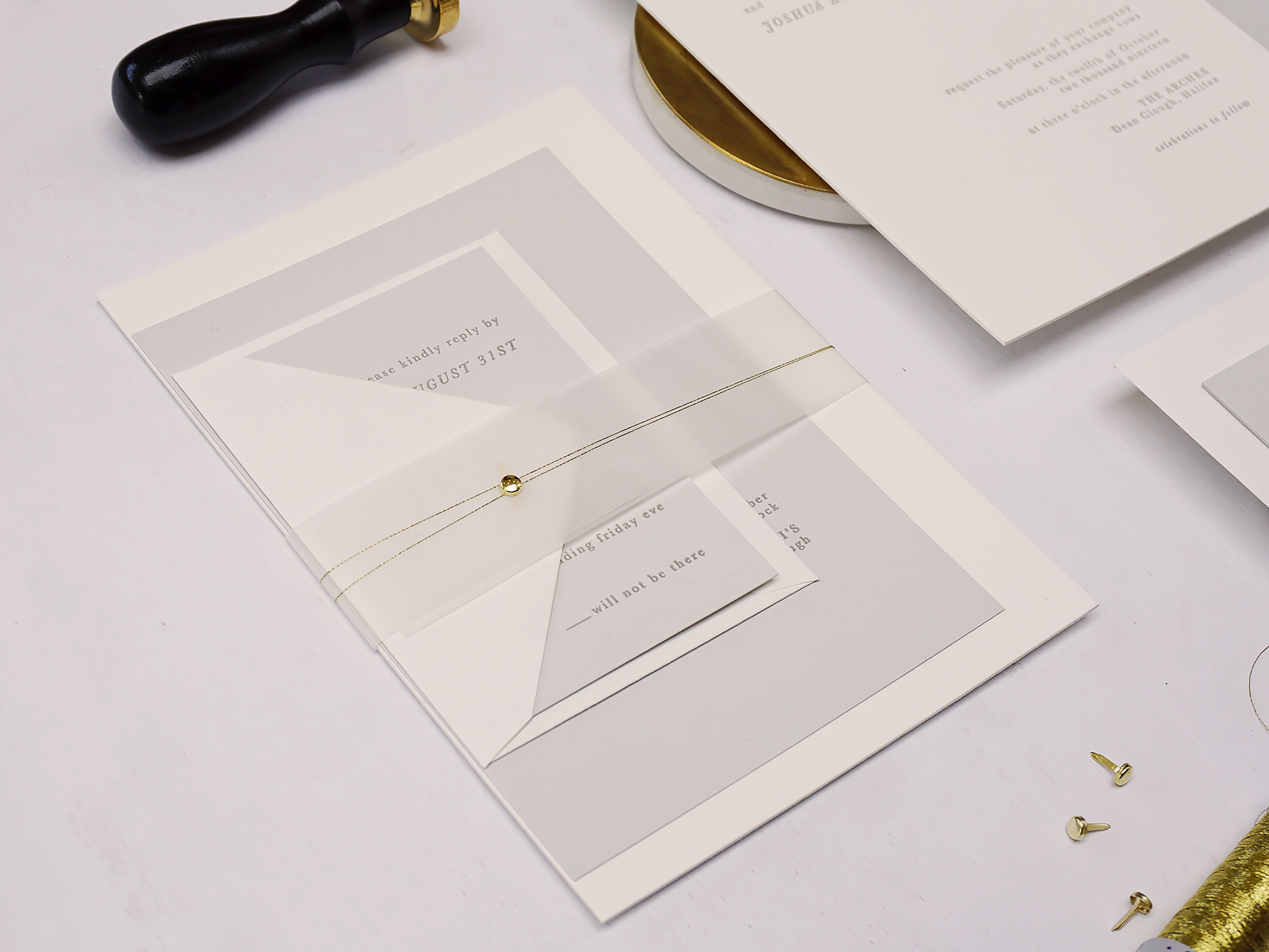 modern-luxe-minimal-letterpress-invitation-gold-grey-white