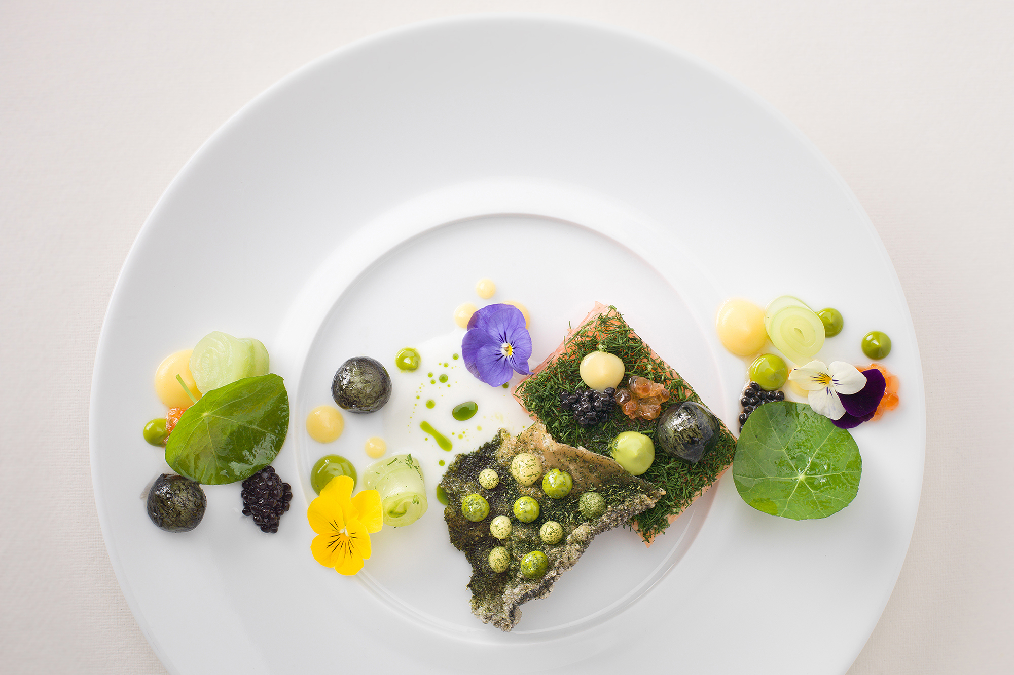 L'Ortolan. Food - Tom Clarke